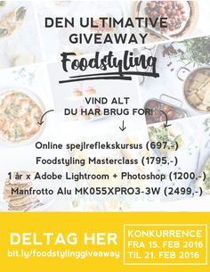 Den ultimative Foodstyling Giveaway