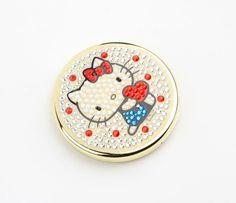 Hello Kitty Compact Mirror: Sparkle