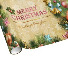 Merry Christmas 74 Wrapping Paper