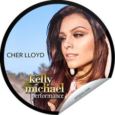 Steffie Doll's LIVE with Kelly and Michael: Cher Lloyd Sticker | GetGlue