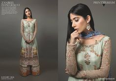Pakistani outfit by Fahad Hussayn.