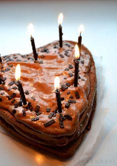 Herkkuhovi: Kakut Taemin, Birthday Candles, Baking, Bakken, Bread, Backen, Reposteria