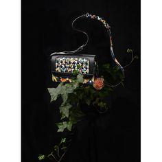 Still life photo by Monika Holzner Kimono Pattern, Flower Bag, Still Life Photos, Japanese Kimono, Cow Leather, Flower Prints, Vienna, Evening Bags, Crossbody Bag