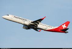 Photo of HB-JVR Embraer 190-100LR by Sebastian Thiel