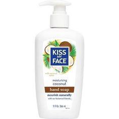 Kiss My Face 1131861 Moist Soap,Coconut - 9 oz