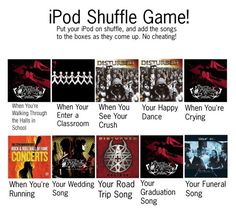 """""""iPod Shuffle Game"""" by i-am-and-always-will-be-a-cat ❤ liked on Polyvore"""