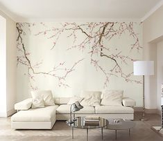 Plum Blossom Removable Wallpaper Oriental Vintage Flower Self-Adhe. - Plum Blossom Removable Wallpaper Oriental Vintage Flower Self-Adhesive Wall Decal Chi - New Wallpaper, Custom Wallpaper, Nature Wallpaper, Photo Wallpaper, Bedroom Wall, Bedroom Decor, Bedroom Sets, Girls Bedroom, Chinoiserie Wallpaper