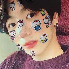 Jungkook Selca, Foto Jungkook, Jungkook Cute, Kookie Bts, Taehyung, V Bts Cute, I Love Bts, Foto Bts, Jikook