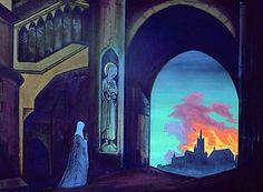 nicholas roerich heaven | Saint Genevieve by Nicholas Roerich