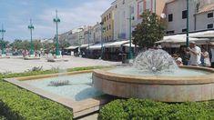 Mali Losinj ~ Croatia 👋🏼 ~ Summer Holidays ☀️ ~ ⛵️~ Ani Life 🌸 Croatia, Fountain, Aqua, Sidewalk, Holidays, Outdoor Decor, Summer, Life, Walkway
