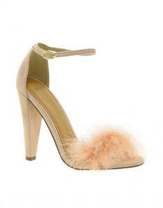 Les sandales plumes d'Asos