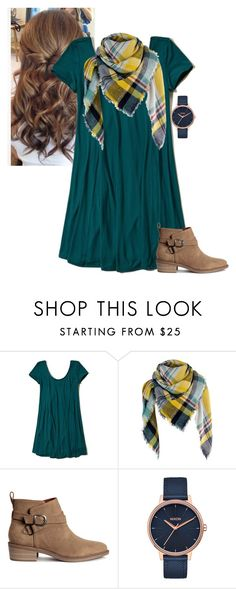 """""""Untitled #850"""" by aubreyspringer ❤ liked on Polyvore featuring Hollister Co., H&M and Nixon"""