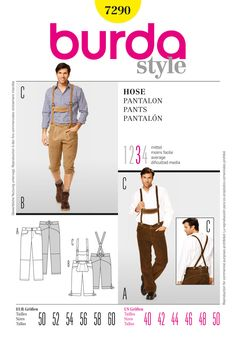 Simplicity : B7290 - They carry this pattern at jo-ann's and it is in mensware, not costume. Why?