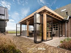 Backyard Patio Designs, Backyard Landscaping, House Extension Design, House Design, Outdoor Rooms, Outdoor Living, Design Jardin, House Siding, Outside Living