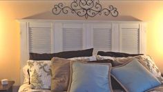 King Size Shutter Headboard - by Chris McDowell @ LumberJocks.com ~ woodworking community