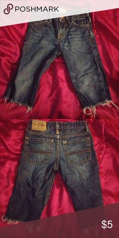 Children's Place jean cutoff shorts boys sz 5 Gently used Children's Place Bottoms Shorts