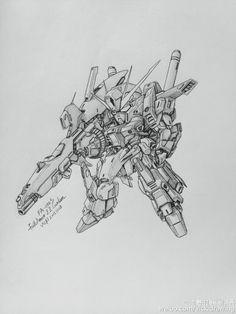 GUNDAM GUY: Awesome Gundam Sketches by VickiDrawing [Updated 7/23/16]