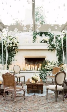 Wedding Venues Get Inspired by These 15 Cool (and Cozy!) Lounge Areas - You'll want to rest your feet in these pretty set-ups. Wedding Lounge, Wedding Chairs, Luxury Wedding, Boho Wedding, Wedding Decor, French Wedding, Wedding Seating, Formal Wedding, Wedding Bells