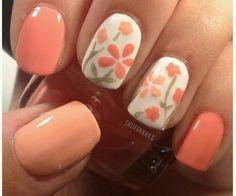 Flowers nail art | weheartit.com