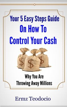 """Visit and sign in to our site - www.destinationfeed.com and Claim your FREE eBook """"Your 5 Easy Steps Guide On How To Control Your Cash"""" Step Guide, Free Ebooks, Sign, Easy, Signs, Board"""