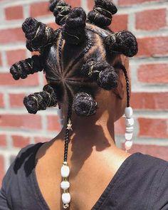 43 Trendy Ways to Rock African Braids Bantu Knot Hairstyles, Black Girl Braided Hairstyles, African Braids Hairstyles, Baddie Hairstyles, 4 Braids Hairstyle, Bandana Hairstyles, Creative Hairstyles, Cool Hairstyles, Curly Hair Styles