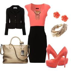 """""""9:AM Business Meeting"""" by deborah-simmons on Polyvore"""