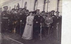 King Alexander and Queen Draga Obrenovic of Serbia