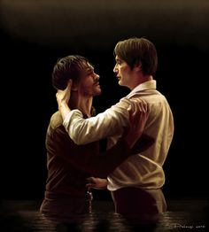 Tacet   Hannibal and Will by Alessia Pelonzi