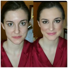 Before and after Phenomenal faces Bridal Make Up, Wedding Make Up, Boho Wedding, Makeup Gallery, Bride Hairstyles, Brides, Face Makeup, Wedding Inspiration, Faces