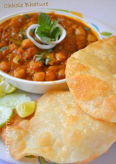 Tasty Appetite: Chole Bhature / Punjabi Bhature Recipe / step by s...