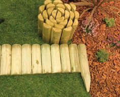 Log Rolls and Panels Decorative Planters, Ceramic Planters, Decorative Aggregates, Bamboo Screening, Pea Gravel, Planter Boxes, Flower Beds, Garden Landscaping, Garden Design