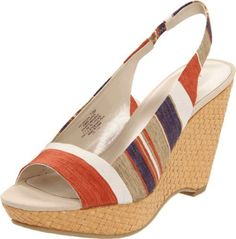 Perfect for Summer Cocktail Party....from AK Anne Klein Women's Fortuna Wedge Sandal