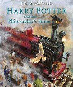 Harry Potter and the Philosopher's Stone: Illustrated Edition: J.K. Rowling, Jim Kay: