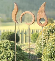 Abstract #Garden #Stakes, Set of 3 - was $129.95 now $89.99 (deal ends 8-5-13)