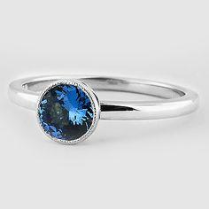 Sapphire Sierra Ring