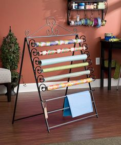 Love this Easel/Wall Mount Craft Storage Rack on #zulily! #zulilyfinds