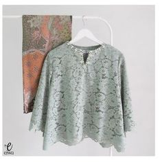 TOP0189 (dusty green)  SOLDOUT  Bust 96-100cm Length 55cm Sleeve 40cm wide with Lining For more details and price please contact us :) Line : @eiwaonline WA : +6289687171323 -- *Colors may appear slightly different due to lighting during photoshoot, pc/smartphone picture resolution, or individual monitor setting.