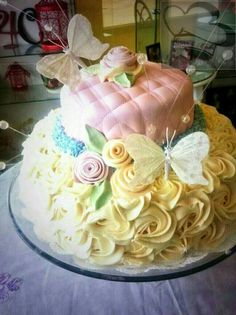 Butterfly cake. One of my faves