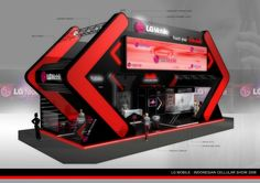 Creative trade show booth displays morphology