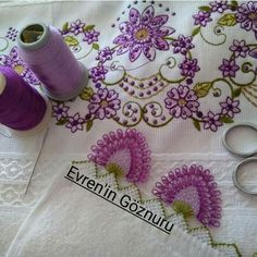 Needle Lace, Lace Making, Diy And Crafts, Crochet Necklace, Embroidery, How To Make, Jewelry, Hardanger, Towels