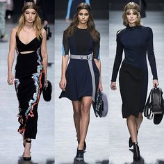 Versace Milan Fashion Week - Trend of B