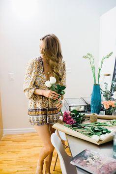 Glitter Girl: Samantha Wills by Trent Bailey Photography for Glitter Guide    Samantha's NYC apartment & studio!  Facebook.com/OfficialSW image via GlitterGuide.com #interiordesign #interiors #designstudio