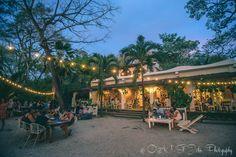 La Luna Restaurant in Playa Pelada. Nosara. Costa Rica