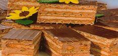 Тортик из печенья и вафель получается хрустящим, очень вкусным.