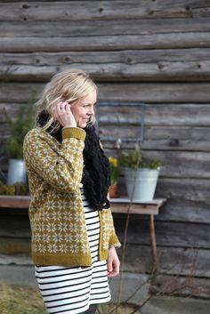 Livs Lyst: vårplukk Knit Cardigan, Knit Sweaters, Mittens, Knitting Patterns, My Love, Crochet, Norway, Addiction, Bright
