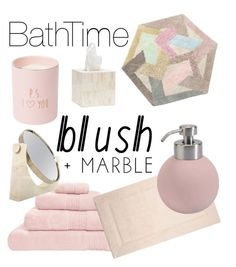 """""""Home Decor - Bath - blush&marble"""" by cansu-delitay ❤ liked on Polyvore featuring interior, interiors, interior design, home, home decor, interior decorating, Hamam, Ziporah, Yves Delorme and Aquanova"""