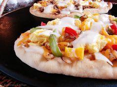 Breakfast Pizza Recipe from @KatrinasKitchen