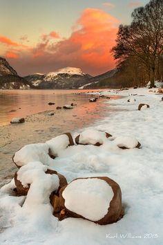 Winter in the Trossachs - Scotland