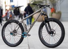 2017 Philly Bike Expo: 44 Bikes Titanium Marauder SSMTB Photos by Jarrod Bunk, words by John Watson We saw earlier this week the announcement of 44 Bikes offering titanium as a new frame material for . Cannondale Mountain Bikes, Hardtail Mountain Bike, Mountain Bicycle, Mountain Biking, Buy Bike, Bike Run, Road Bikes, Cycling Bikes, Road Cycling