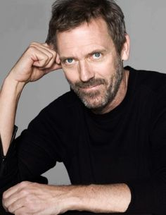 Hugh Laurie-funny, intelligent, and a great actor. (and not bad looking, either!!)